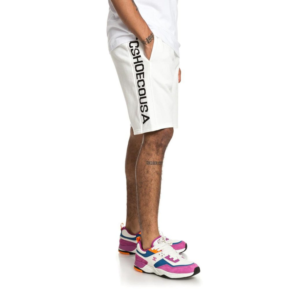 DC Shoes Glynroad Shorts - Snow White