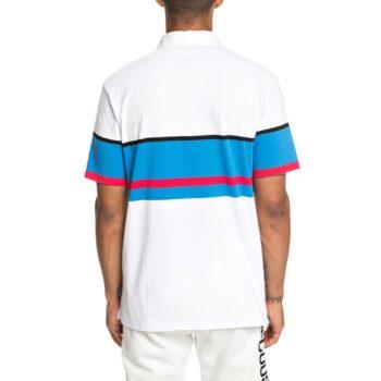 DC Shoes Granline Polo S/S T-Shirt - Snow White
