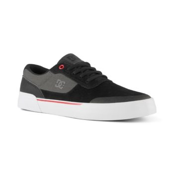DC Shoes Switch Plus S – Black / Athletic Red / White