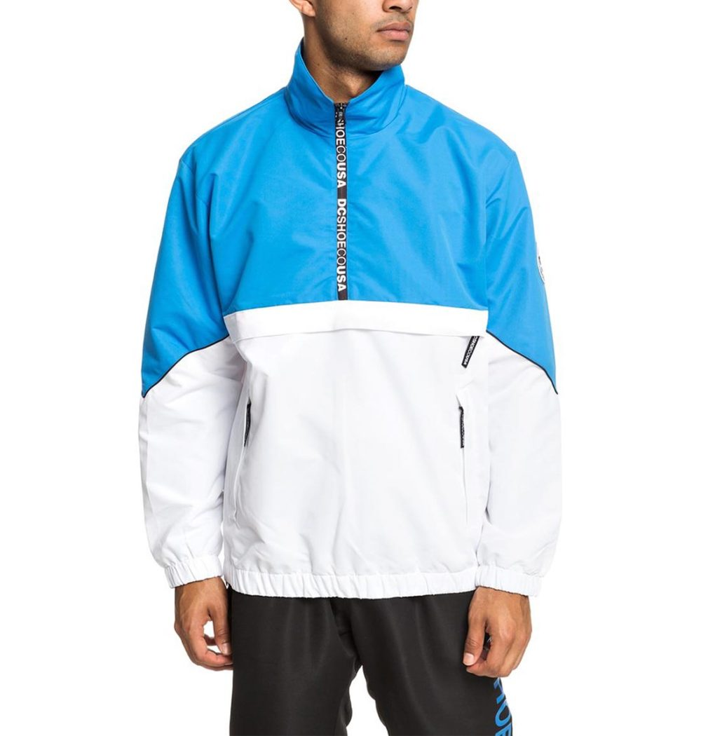 DC Shoes Tipton Half Zip Jacket - Brilliant Blue