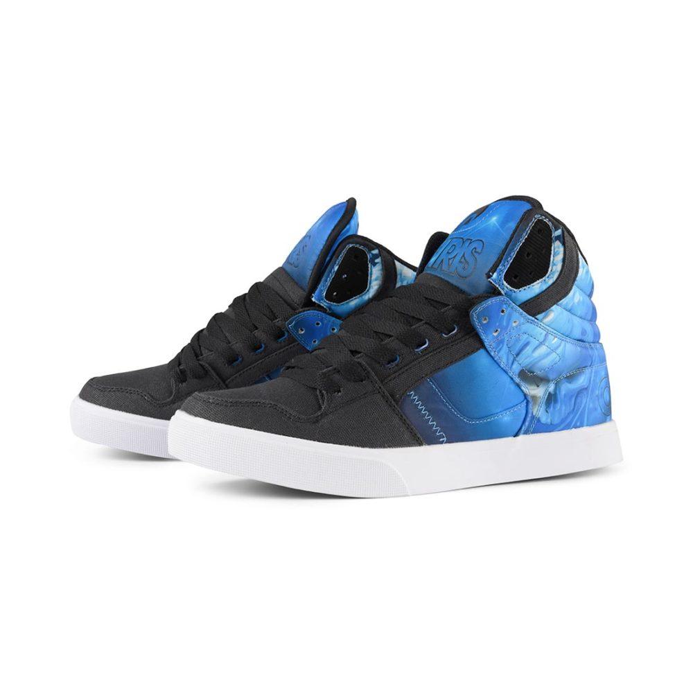 Osiris Clone High Top Shoes – Huit / Drank / Cyan