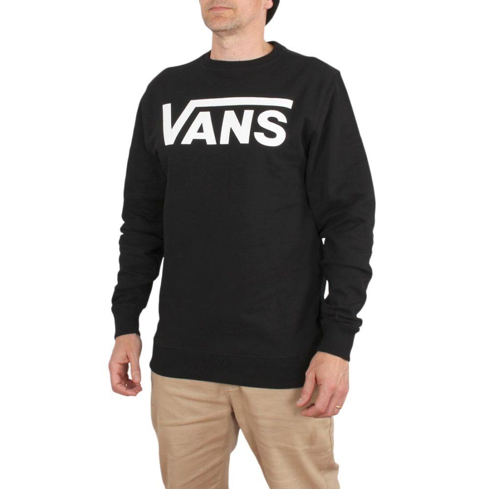 Vans Classic Crew – Black / White