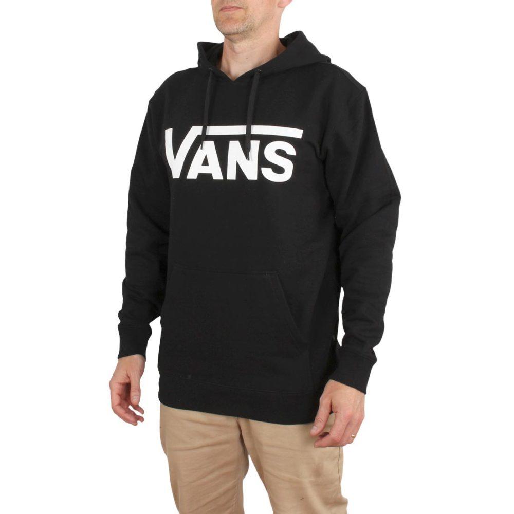 Vans Classic Pullover Hoodie – Black / White