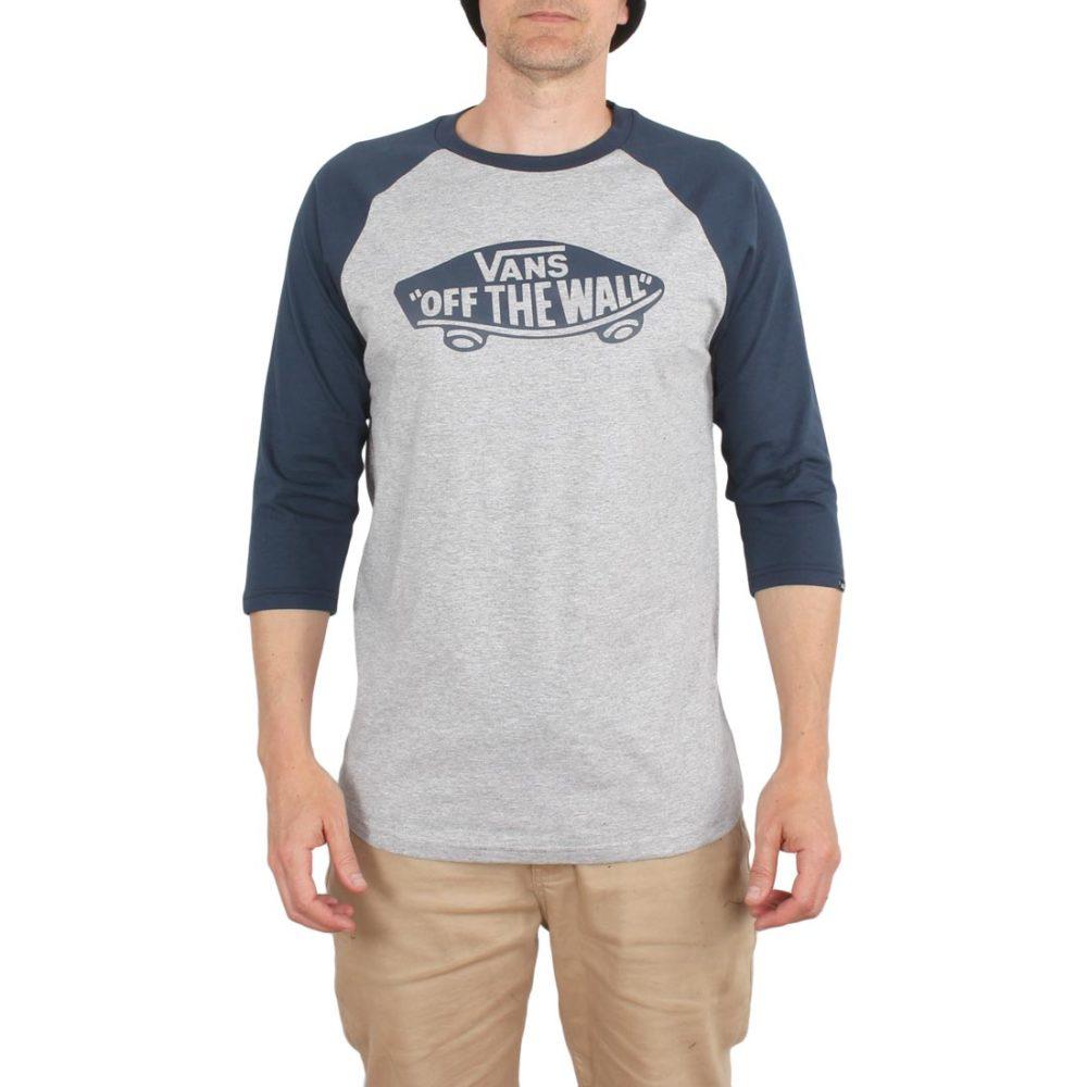 Vans OTW Raglan 3/4 Sleeve T-Shirt – Athletic Heather / Dress Blue