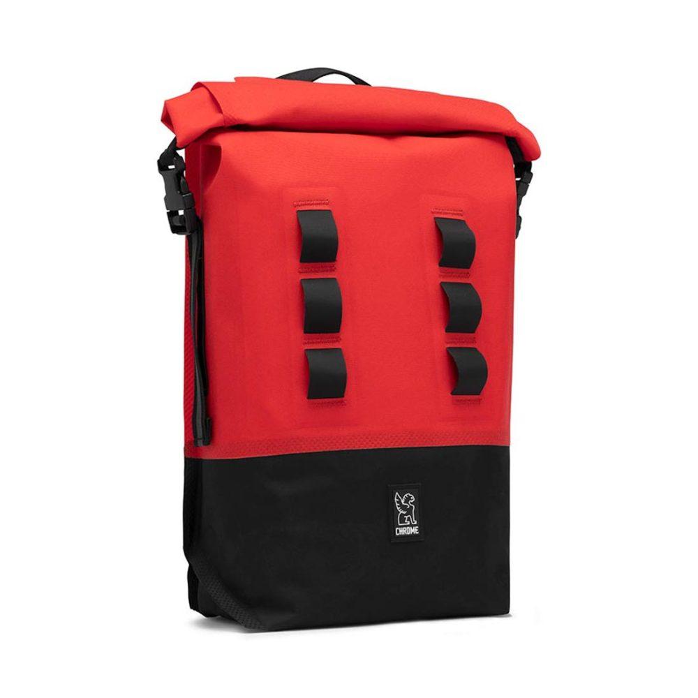 Chrome Urban Ex 18 Rolltop V2 18L Backpack - Red / Black