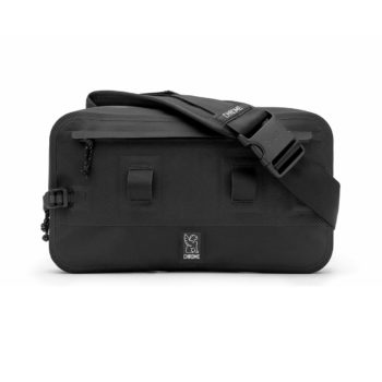 Chrome Urban Ex Sling 10L Messenger Bag - Black / Black