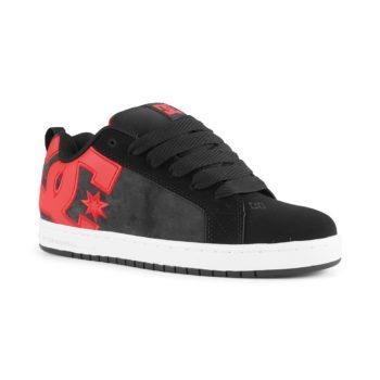 DC Shoes Court Graffik SE – Black / Red / Red