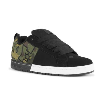 DC Shoes Court Graffik SQ – Black / Camo