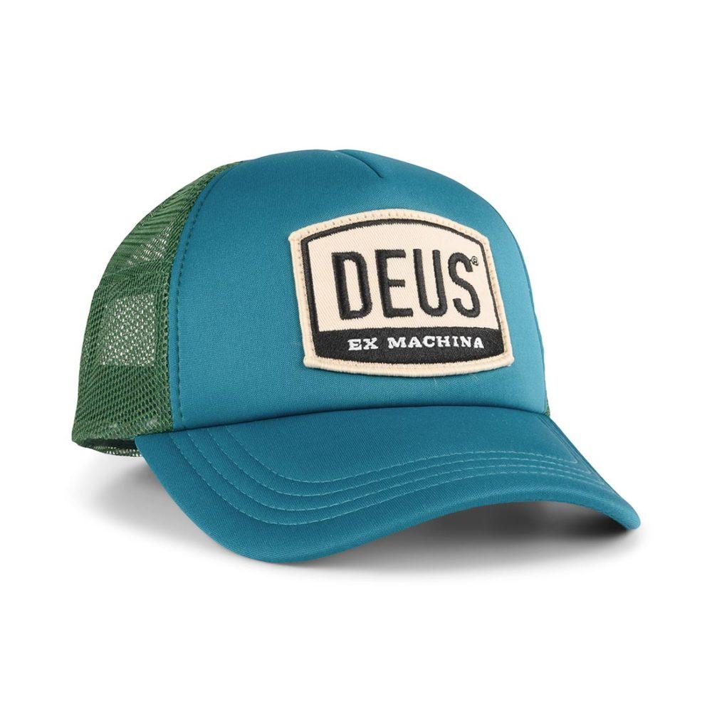 Deus Ex Machina Moretown Mesh Back Trucker Cap – Deep Teal