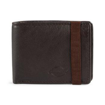 Dickies Wilburn Leather Wallet - Brown