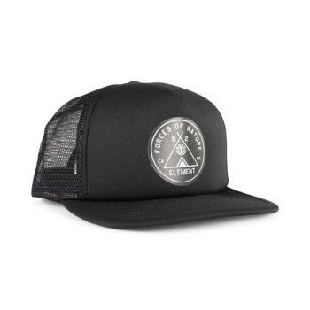 Element Camp Trucker Cap – Flint Black