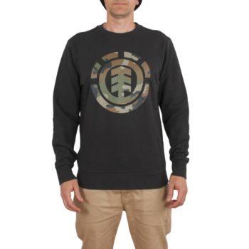 Element Foundation Icon Crew Sweater – Off Black