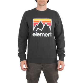 Element Joint Crew Sweater – Off Black