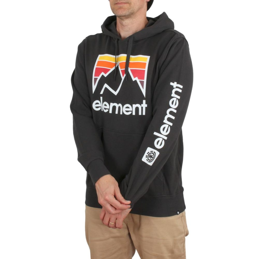 Element Joint Hoodie – Off Black