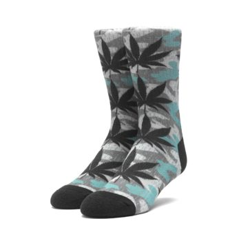 HUF Digital Camo Plantlife Crew Socks - Camo