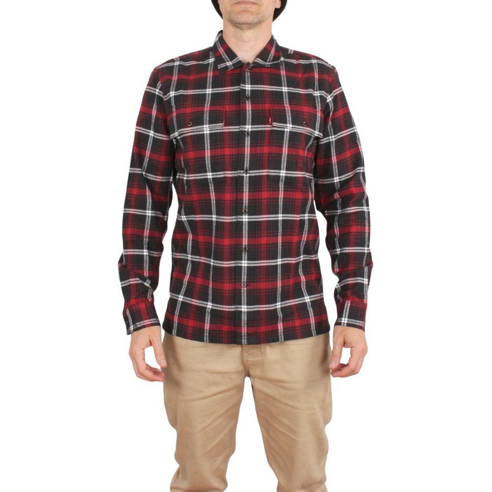Levi's Skateboarding Work Shirt - Scanlon / Jet Black