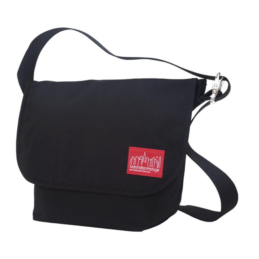 Manhattan Portage Vintage MD 14.4L Messenger Bag - Black