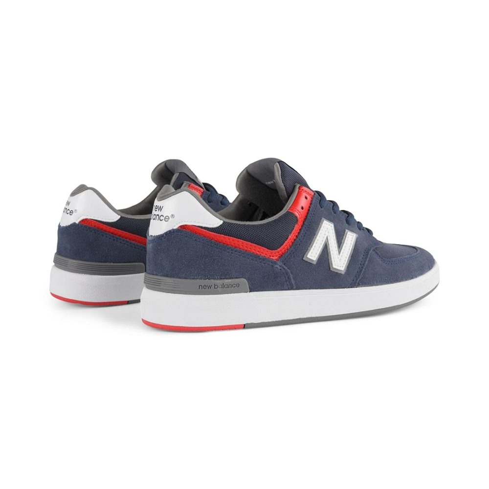 New Balance All Coasts 574 Shoes - Navy / White
