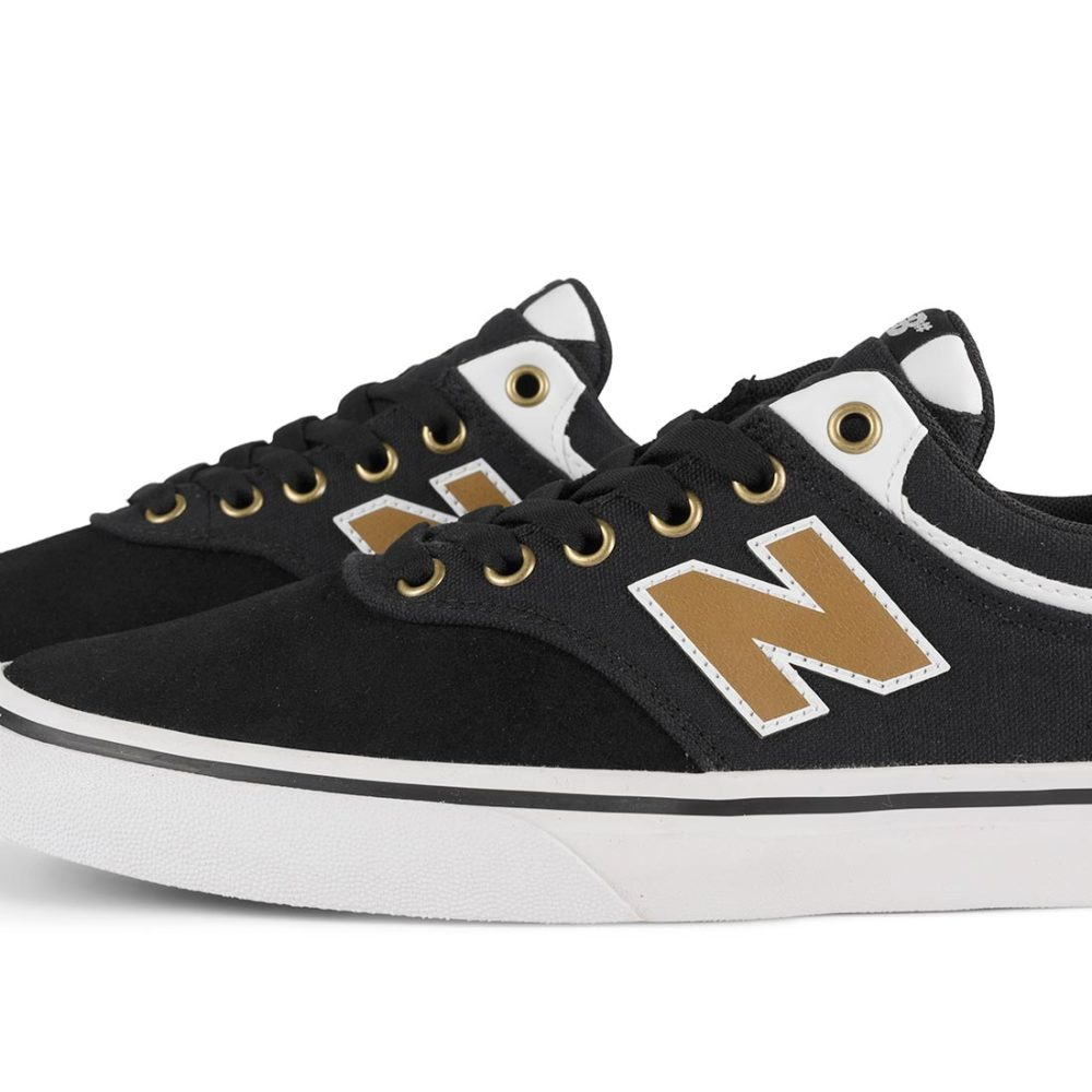 New Balance Numeric 255 Shoes - Black / Brown