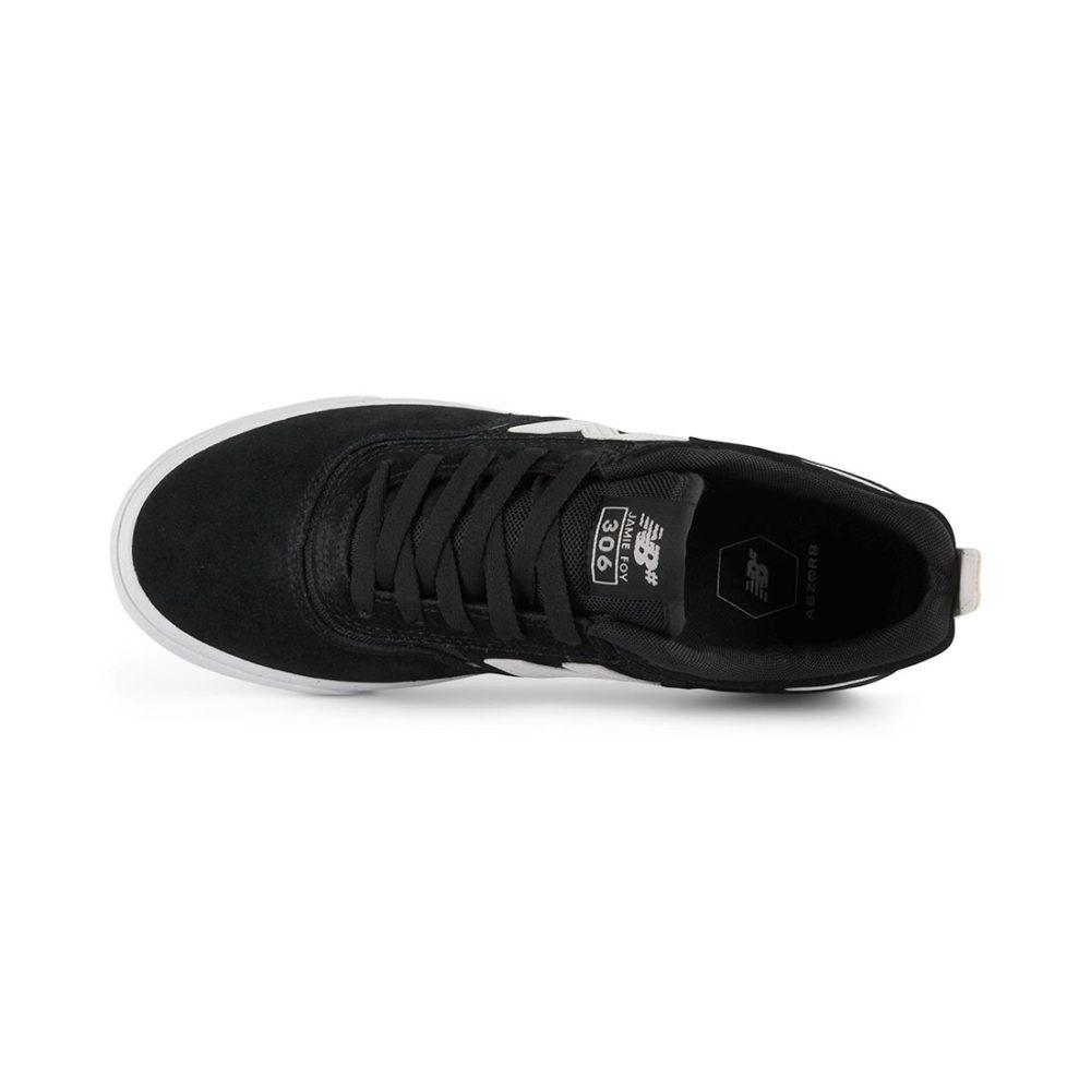 New Balance Numeric 306 Jamie Foy Shoes - Black / White