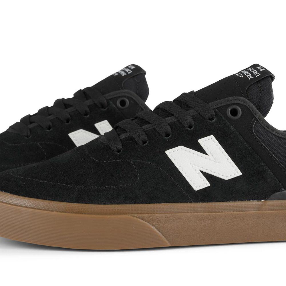 New Balance Numeric 379 Shoes - Black / Gum