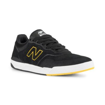 New Balance Numeric 913 Brandon Westgate Shoes - Black / Yellow