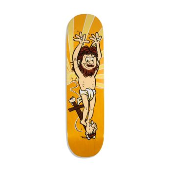 StrangeLove Holy Roller 8″ Skateboard Deck – Sean Cliver