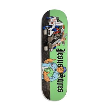 StrangeLove Jesus Saves 8.5″ Skateboard Deck – Sean Cliver