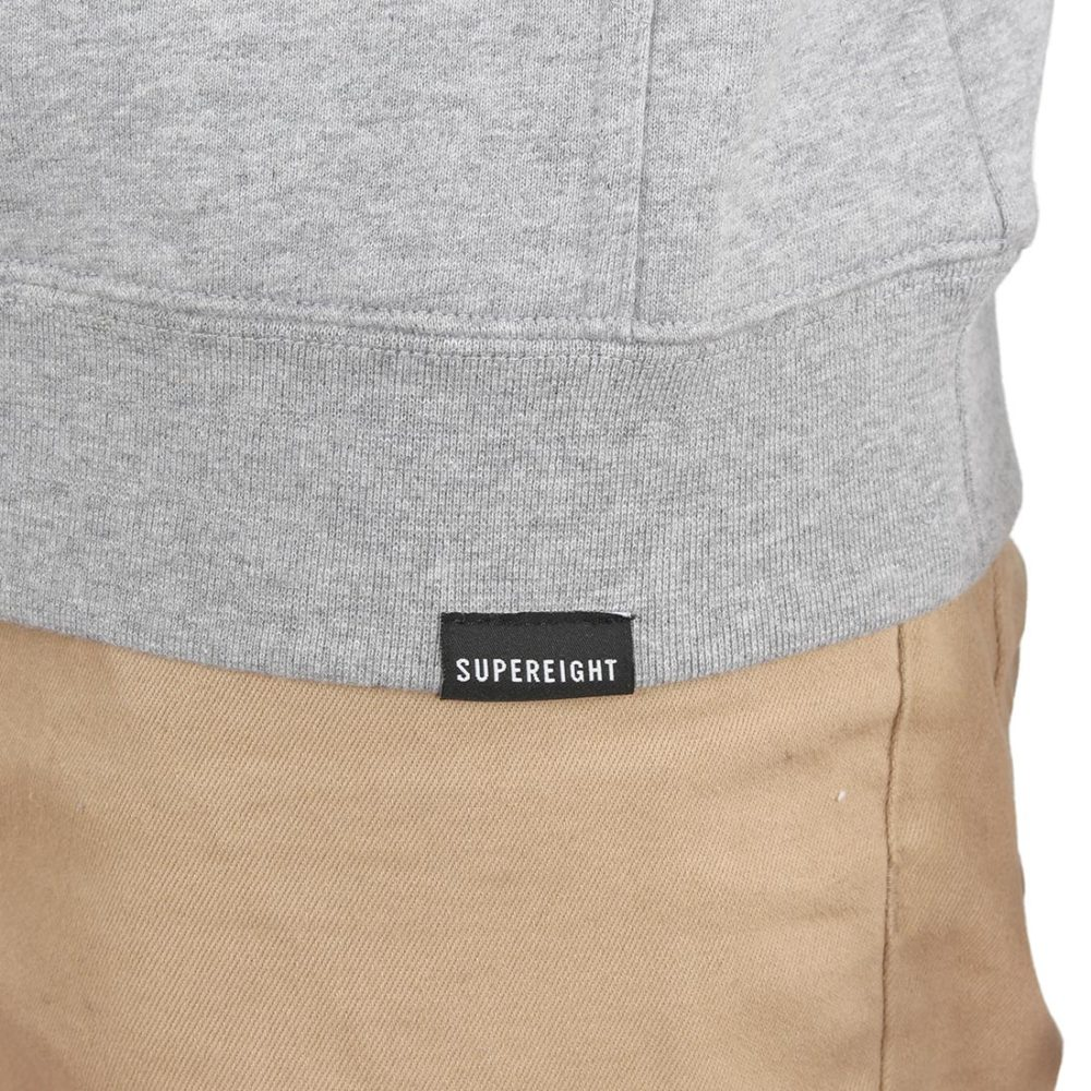 Supereight Supply Co Horizontal Pullover Hoodie – Athletic Heather