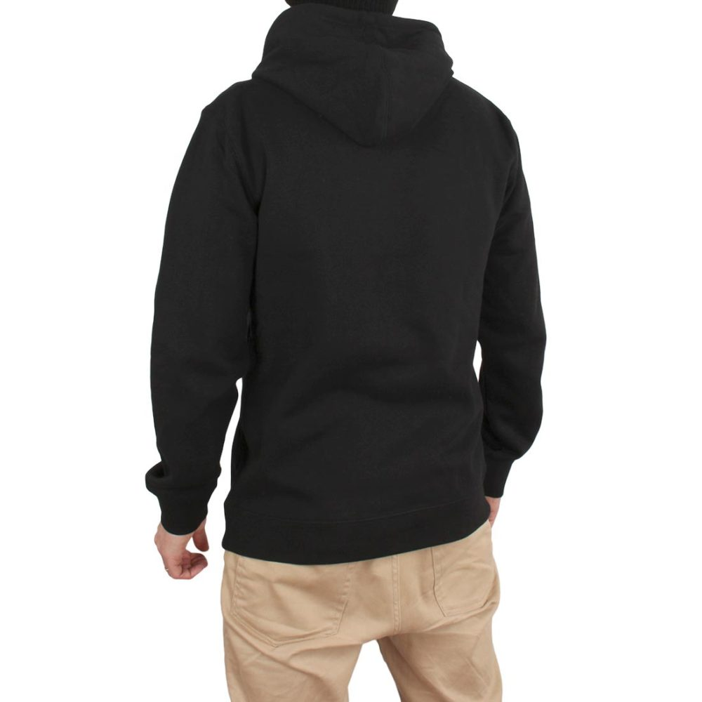 Supereight Supply Co Horizontal Pullover Hoodie – Black