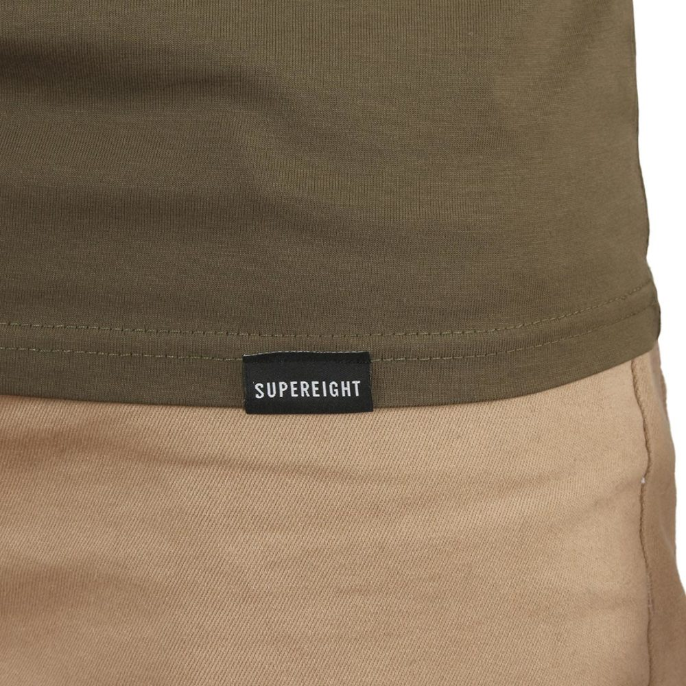 Supereight Supply Co Horizontal S/S T-Shirt – Army