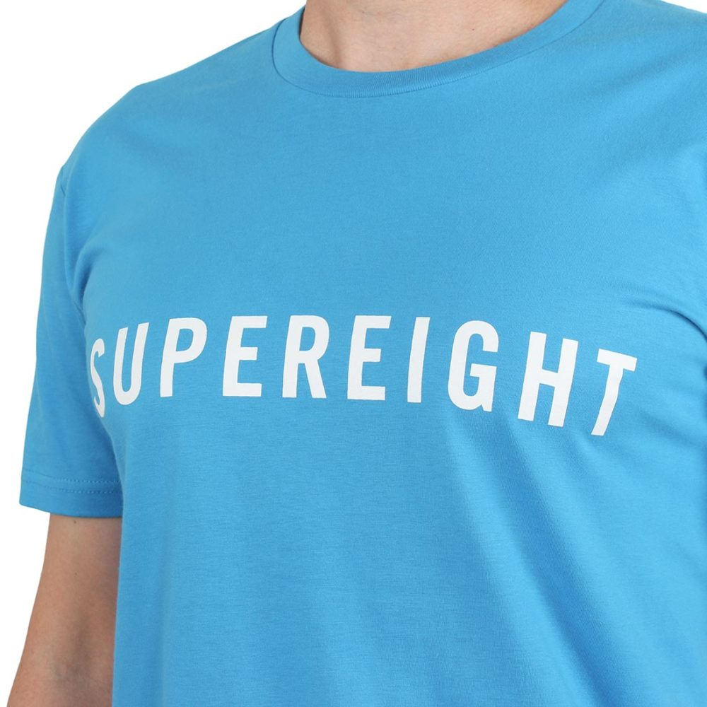 Supereight Supply Co Horizontal S/S T-Shirt – Artic Blue