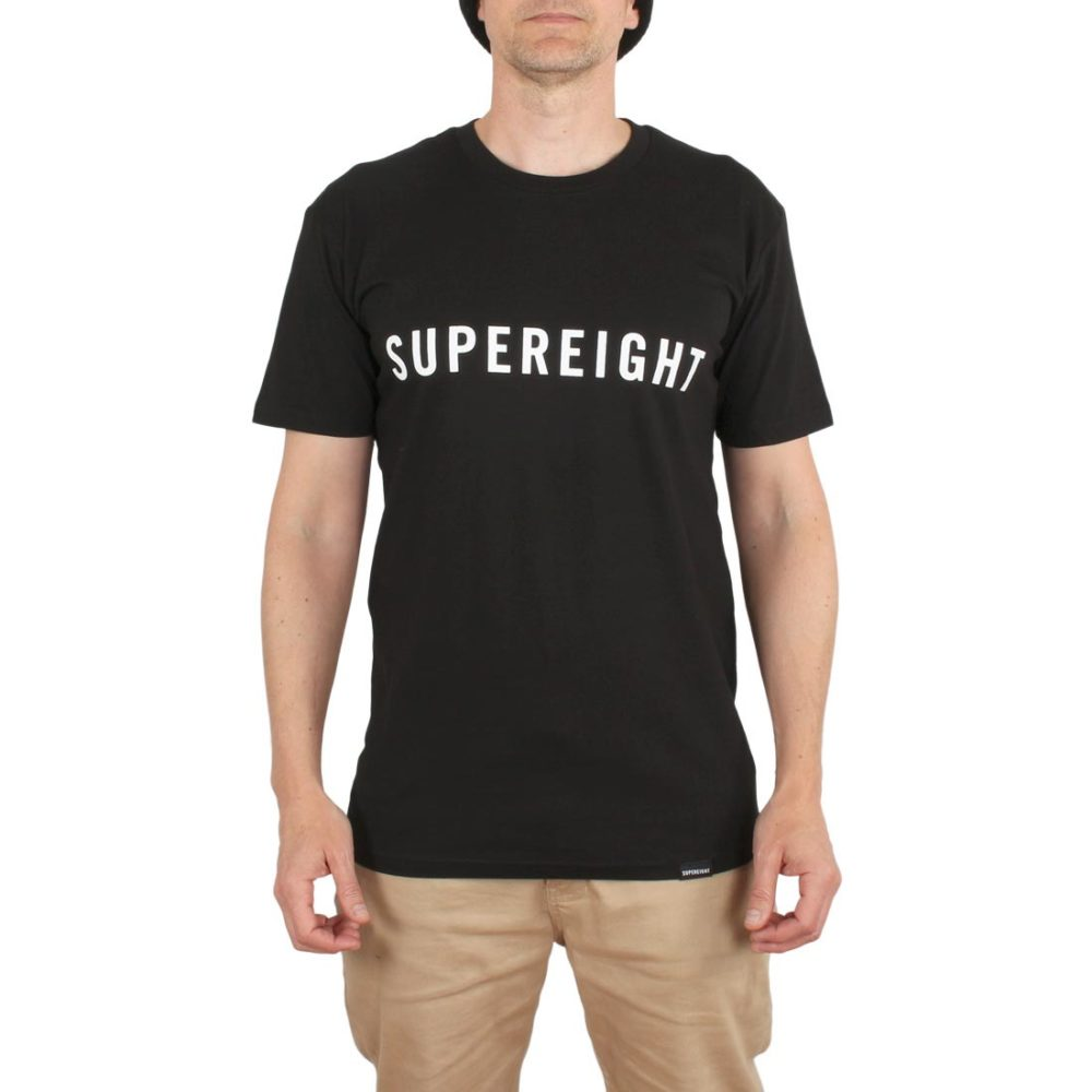Supereight Supply Co Horizontal S/S T-Shirt – Black
