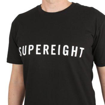 Supereight Supply Co Horizontal S/S T-Shirt – Black