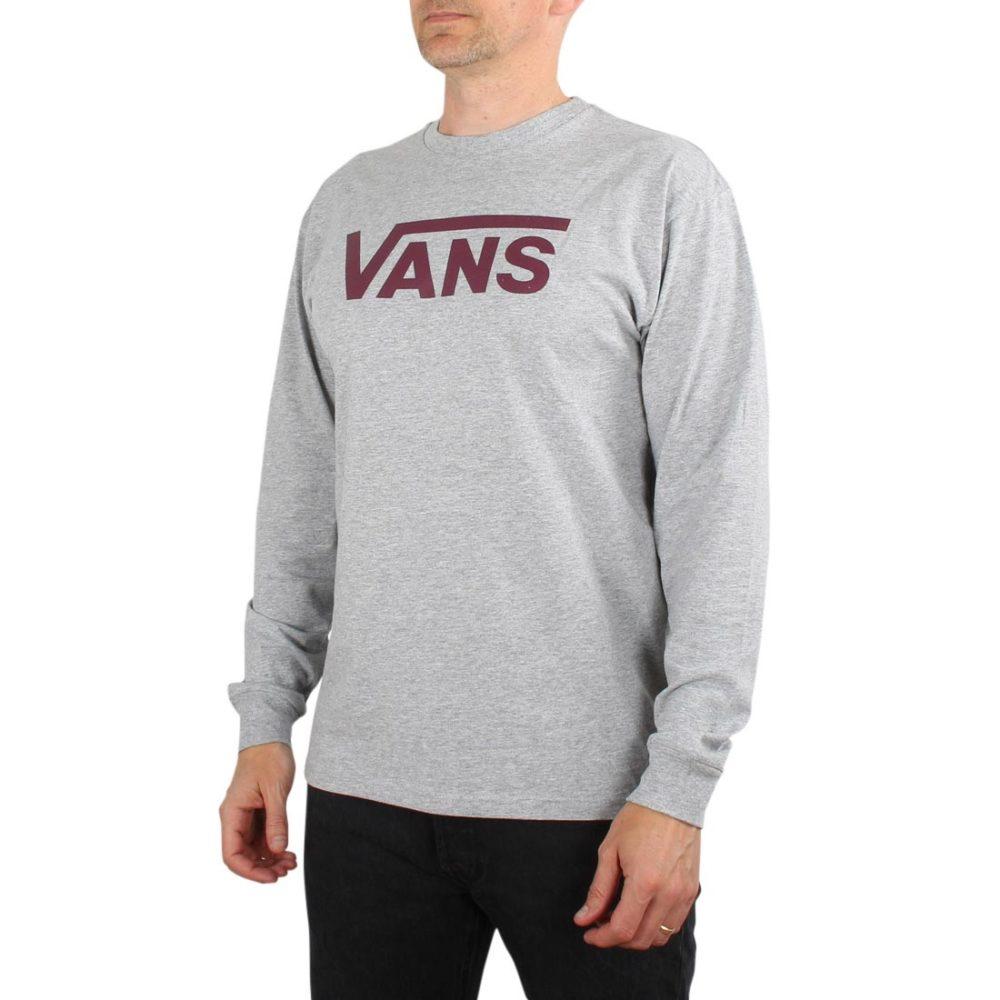Vans Classic L/S T-Shirt - Athletic Heather / Prune