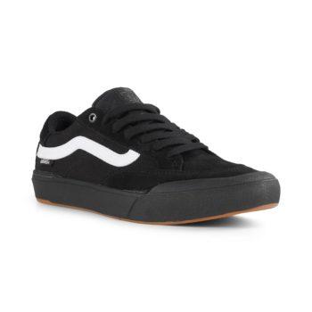 Vans Berle Pro Skate Shoes - Black / Black / White