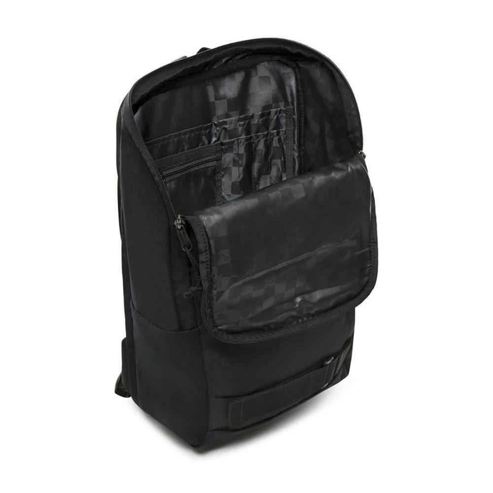 Vans Obstacle Skatepack 23L Backpack – Black