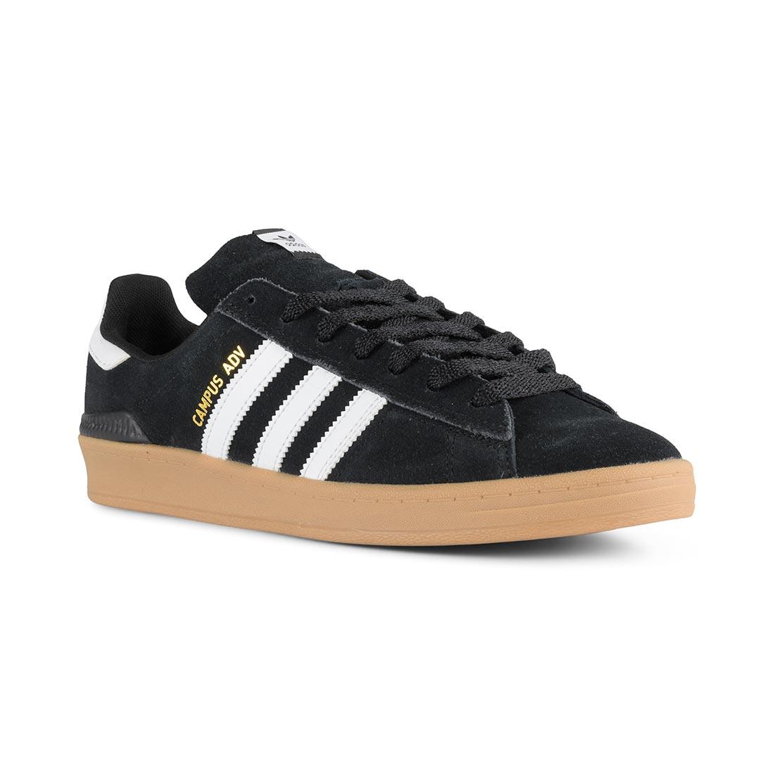 Adidas Campus ADV Shoes Core Black Cloud White Gum