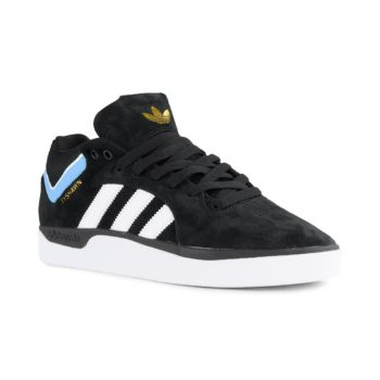 Adidas Tyshawn Core Black Cloud White Light Blue