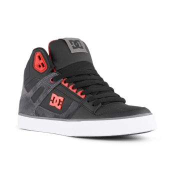 DC Shoes Pure High Top WC SE Black Red