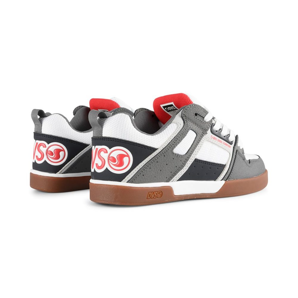 DVS Comanche 2.0+ Shoes White Grey Navy