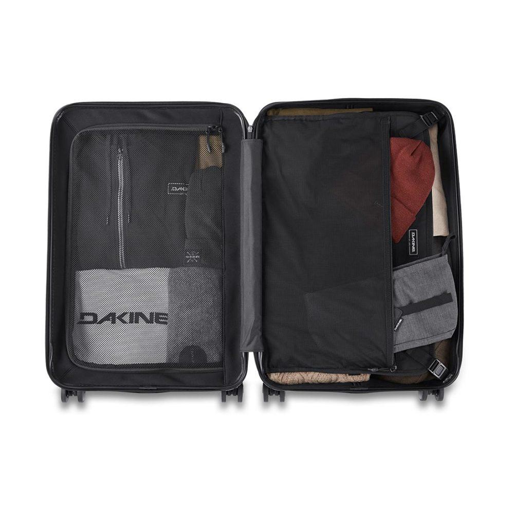 Dakine Concourse Hardside 65L Carry On Suitcase - Black