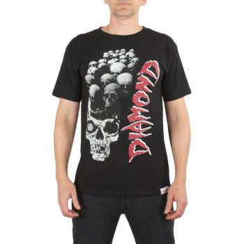 Diamond Supply Co Burial Grounds T-Shirt Black