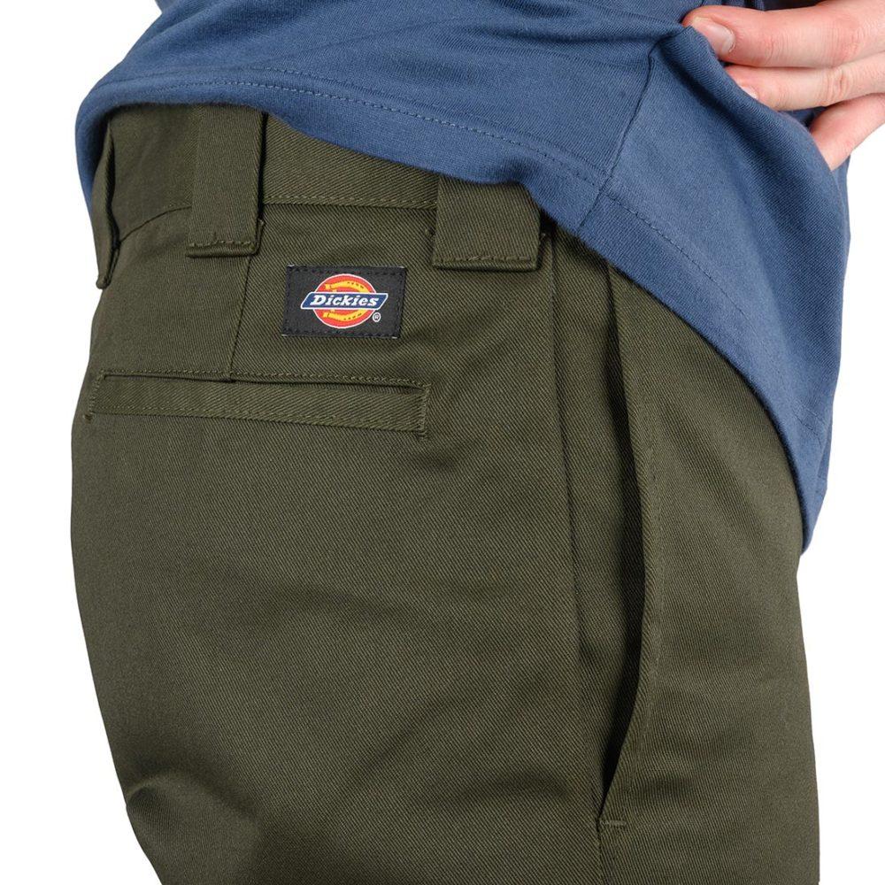 Dickies 873 Slim Straight Work Pant - Olive Green