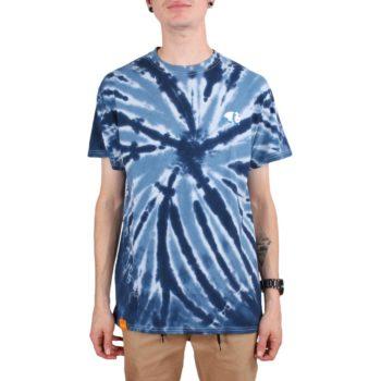Enjoi Classic Panda S/S T-Shirt - Navy Pinwheel Tie Dye