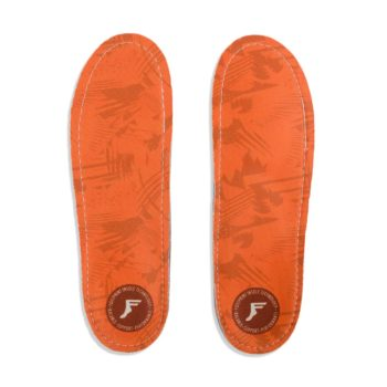 Footprint Kingfoam Orthotic Insoles - Orange Camo