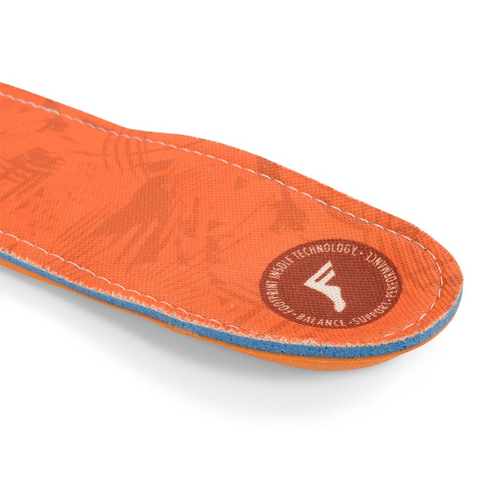 Footprint Kingfoam Orthotic Insoles - Orange Camo