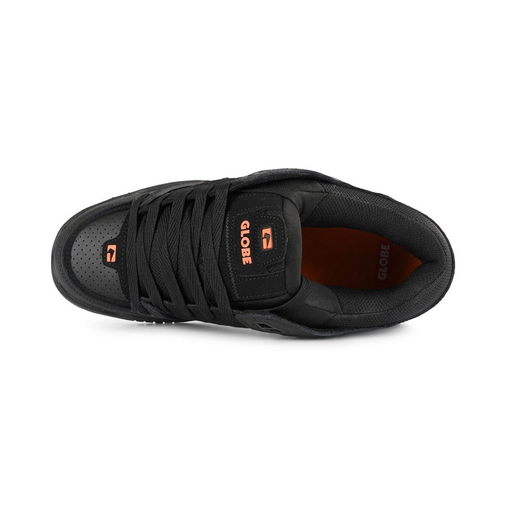 Globe Fusion Black Black Orange