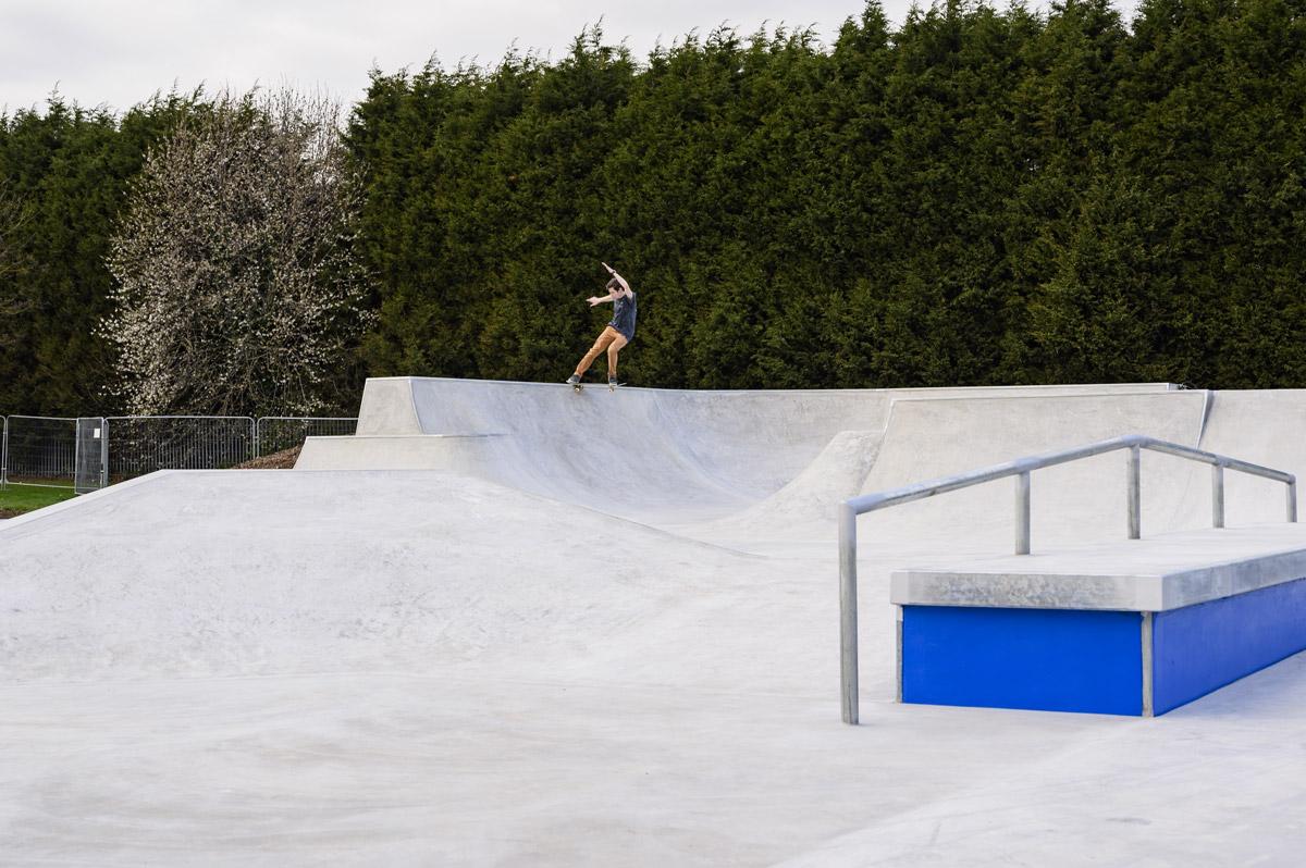 Lady Bay Skate Park - Joey Shepherd FS Tail Slide