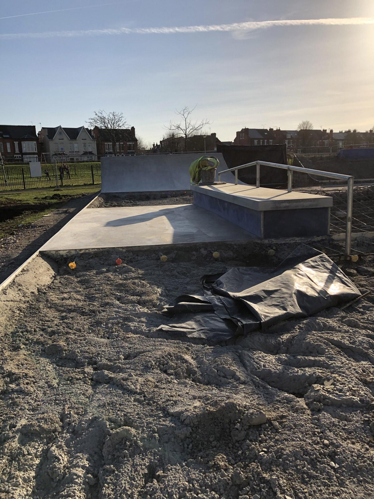 Lady Bay Skatepark V4 Build